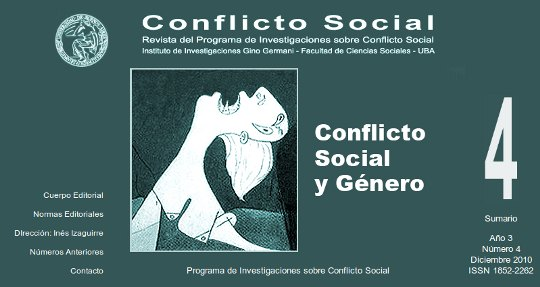 Revista de Conflicto Social N° 4